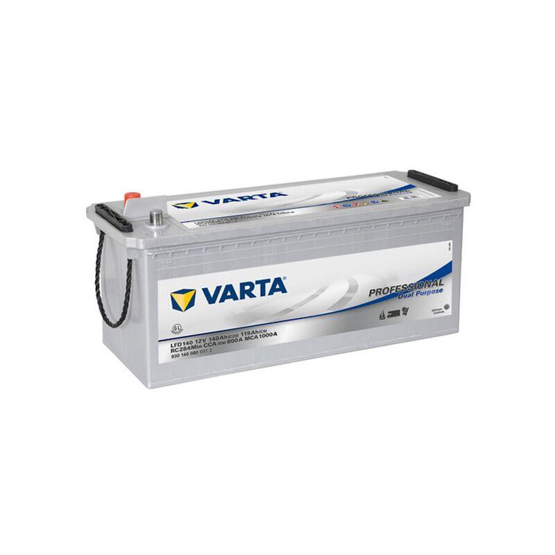 Batterie VARTA Professional Dual Purpose EFB LED 140 12V 140AH 800 AMPS 513x189x223 + Gauche