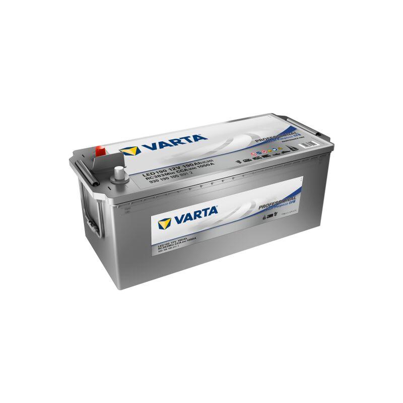 Batterie VARTA Professional Dual Purpose EFB LED 190 12V 190AH 1050 AMPS 513x223x223 + Gauche