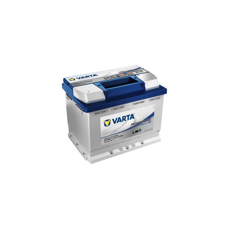Batterie VARTA Professional Dual Purpose EFB LED 60 12V 60AH 680 AMPS 246x175x190 + Droite