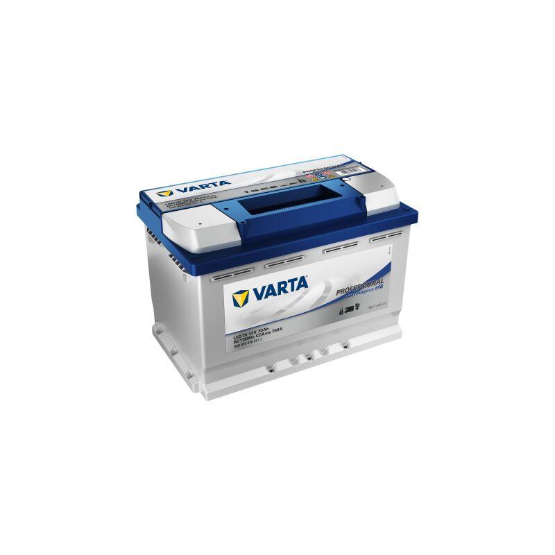 Batterie VARTA Professional Dual Purpose EFB LED 70 12V 70AH 760 AMPS 278x175x190 + Droite