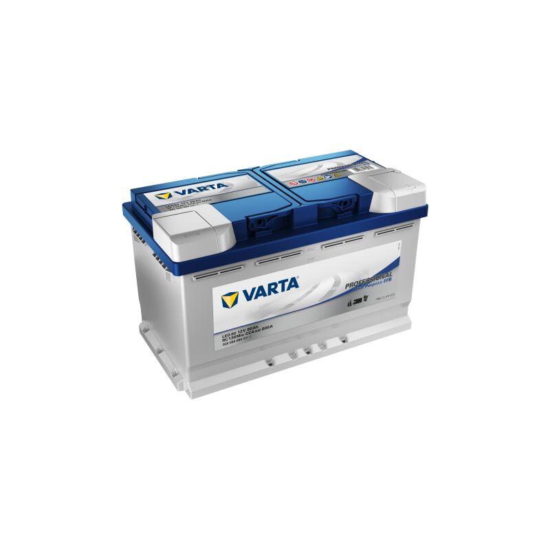 Batterie VARTA Professional Dual Purpose EFB LED 80 12V 80AH 800 AMPS 314x175x190 + Droite