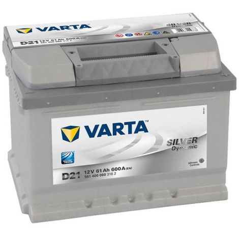 Batterie Varta silver Dynamic D21 12v 61ah 610A 561400060