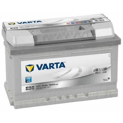 Batterie Varta Silver Dynamic E38 12v 74ah 750A 574 402 075