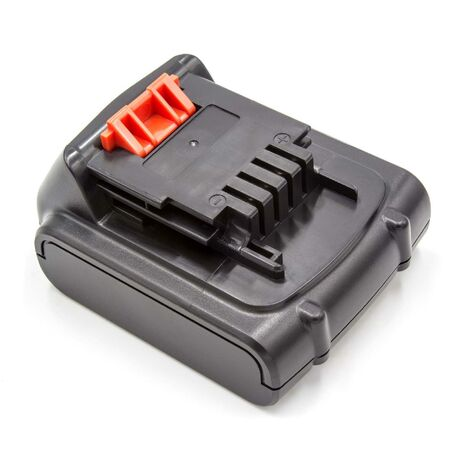 Batterie vhbw 2000mAh (14.4V) pour outils Black & Decker LGC120, LMT16SB-2, LST220, MFL143K, MFL143KB. Remplace: Black & Decker BL1114, BL1314, BL1514