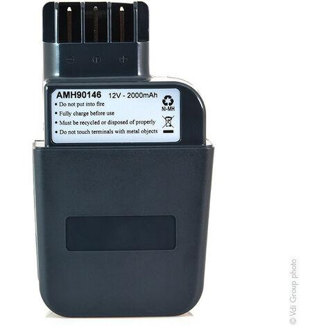 Batterie visseuse, perceuse, perforateur, ... 12V 2Ah - AMN9041 ; 31723000 ; 6.30071 ; 6.30