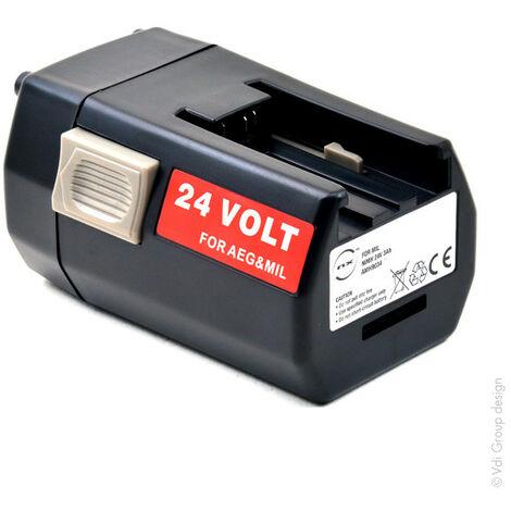 Batterie visseuse, perceuse, perforateur, ... 24V 3Ah - 4932376090