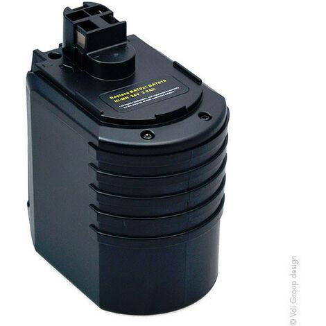 Batterie visseuse, perceuse, perforateur, ... 24V 3Ah - 702300924 ; 2607335215 ; 702300824