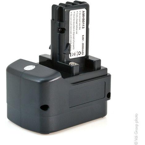 Batterie visseuse, perceuse, perforateur, ... 9.6V 2Ah - AMN8641 ; 3.1746 ; 31728000 ; 3174