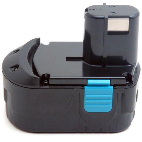 Batterie visseuse, perceuse, perforateur, ... compatible Hikoki 18V 3Ah - EB1820 ; EB1826HL