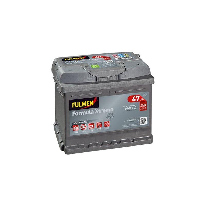 Batterie Formula XTREME FA472 12v 47AH 450A - Fulmen