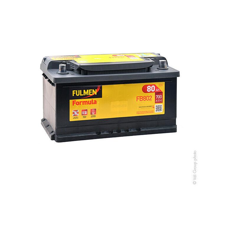 Batterie voiture Formula FB802 12V 80Ah 700A - Fulmen