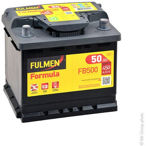 Batterie voiture FULMEN Formula FB500 12V 50Ah 450A
