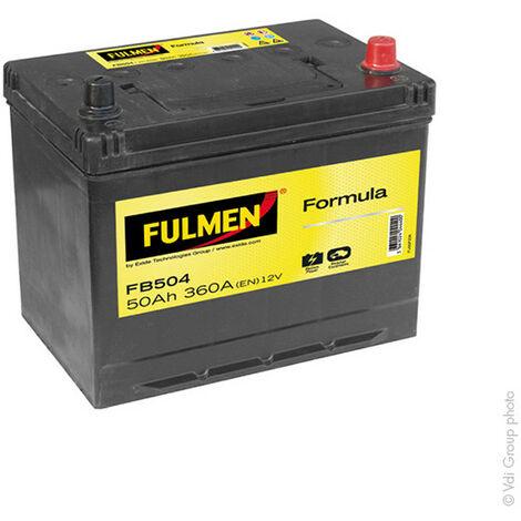Batterie voiture FULMEN Formula FB504 12V 50Ah 360A