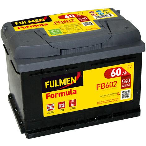 Batterie voiture FULMEN Formula FB602 12V 60Ah 540A