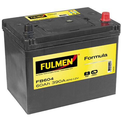 Batterie voiture FULMEN Formula FB604 12V 60Ah 390A