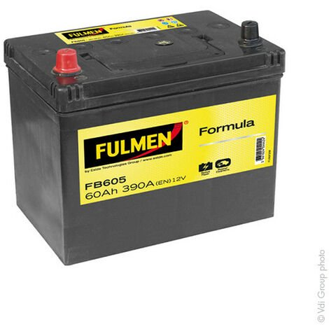 Batterie voiture FULMEN Formula FB605 12V 60Ah 390A