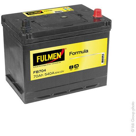 Batterie voiture FULMEN Formula FB704 12V 70Ah 540A
