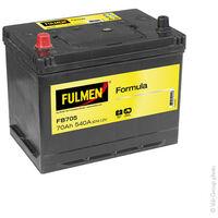 Batterie voiture FULMEN Formula FB705 12V 70Ah 540A