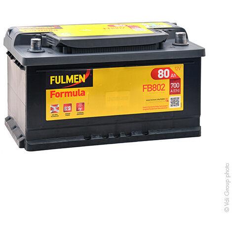 Batterie voiture FULMEN Formula FB802 12V 80Ah 700A