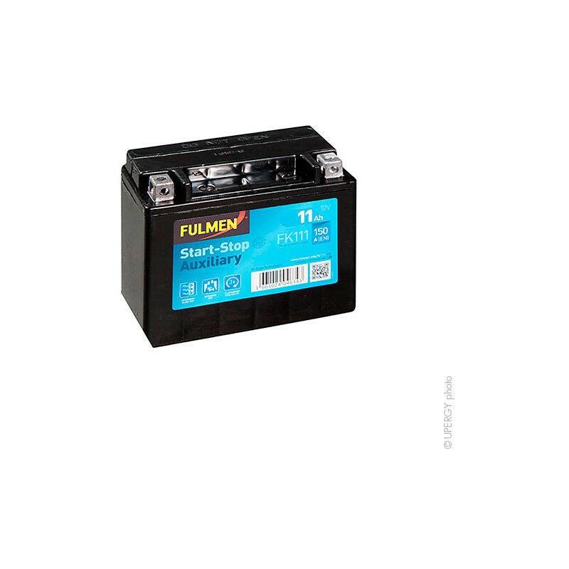 Batterie voiture Start-Stop Auxiliary FK111/ EK111 12V 11Ah 150A - Fulmen