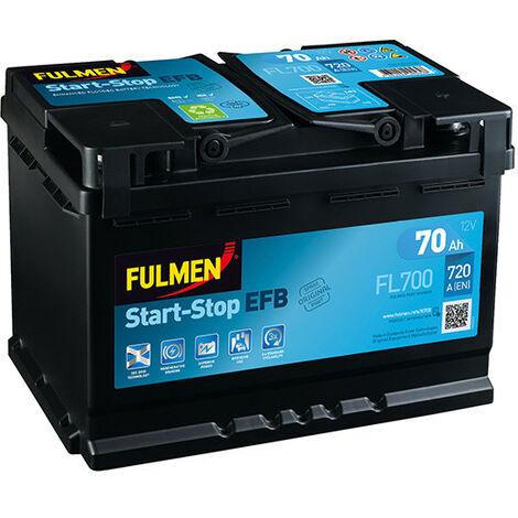 Batterie voiture FULMEN Start-Stop EFB FL700 12V 70Ah 720A