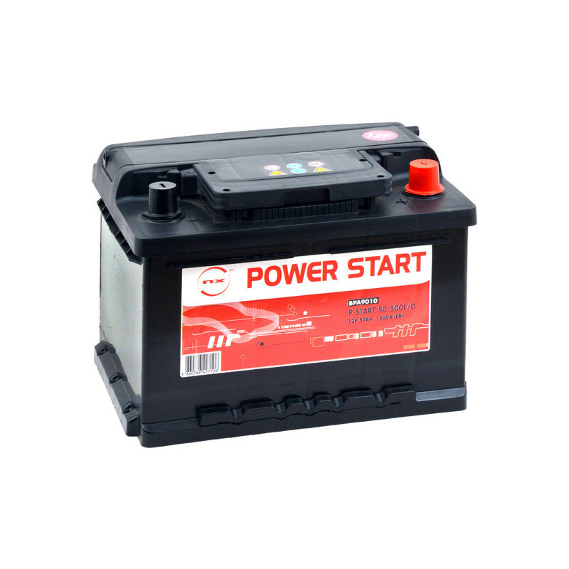 Nx ™ - NX - Batterie voiture NX Power Start 50-500L/0 12V 50Ah