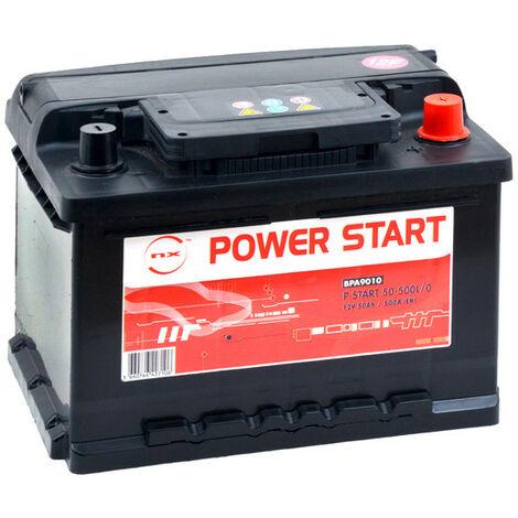 Batterie voiture NX Power Start 50-500L/0 12V 50Ah