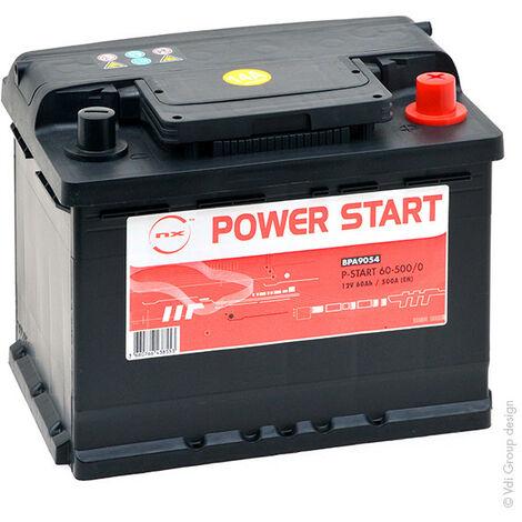 Batterie voiture NX Power Start 60-500 12V 60Ah
