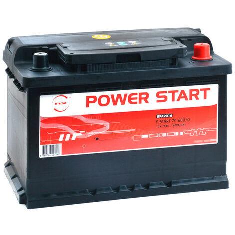 Batterie voiture NX Power Start 70-600/0 12V 70Ah