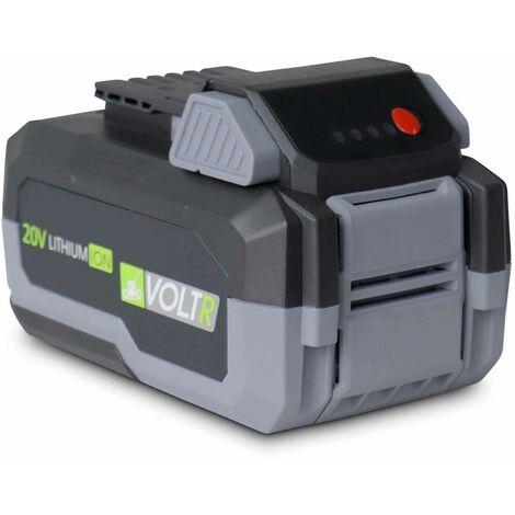 """main image of """"Batterie VOLTR 20V 8.0H pour outils VOLTR 20V - interchangeables. revêtement antidérapant. coins renforcés. anti-casse"""""""