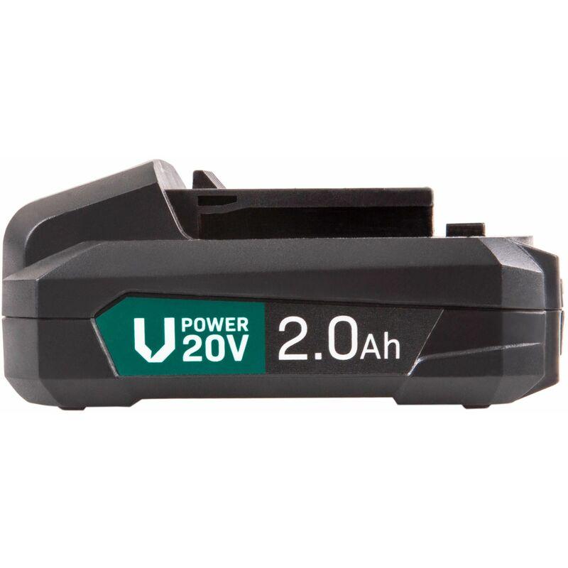 Ah Wc Papier.Batterie Vpower 20v Li Ion 2 0ah