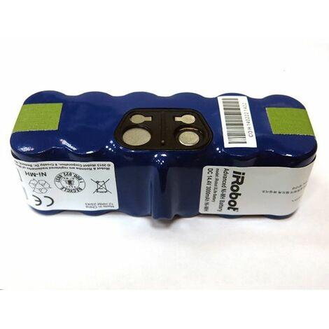 batterie xlife certifiée irobot pour roomba série 500, 600, 700, 800 et scooba 450 - rsp800 - irobot
