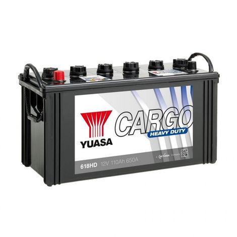 Batterie YUASA Cargo 618HD 12v 110AH 650A