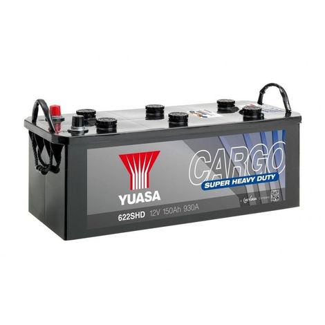 Batterie YUASA Cargo 622SHD 12v 150AH 930A