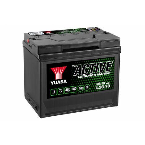 Batterie Yuasa Leisure L26-70 12V 70Ah 450A