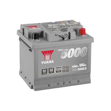 12v Silver 480a Performances Batterie Yuasa Hautes 50ah Ybx5063 TK13clFJ