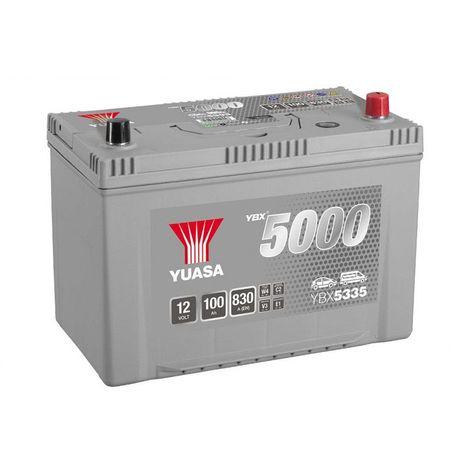Batterie Yuasa Silver YBX5335 12v 100ah 830A Hautes performances