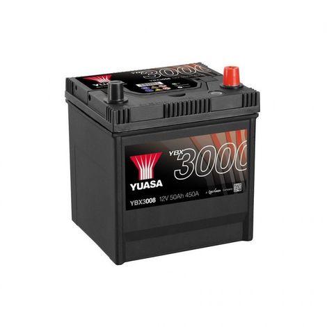 Batterie Yuasa SMF YBX3008 12V 50ah 400A