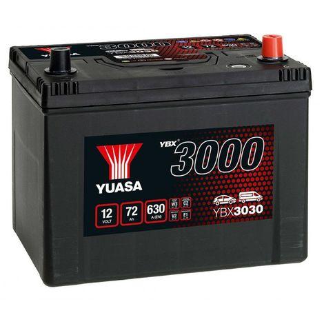 Batterie Yuasa SMF YBX3030 12V 72ah 630A