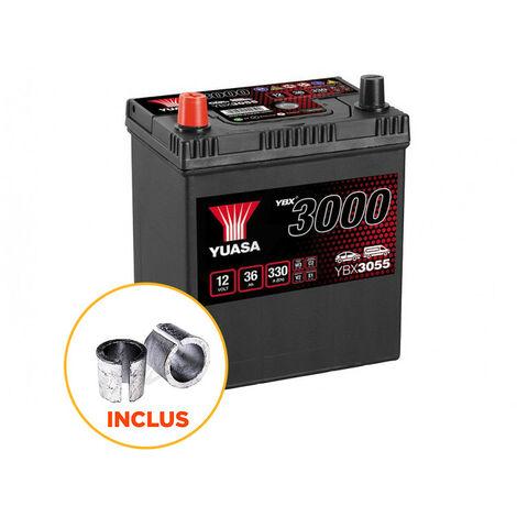 Batterie Yuasa SMF YBX3055 12V 36ah 330A