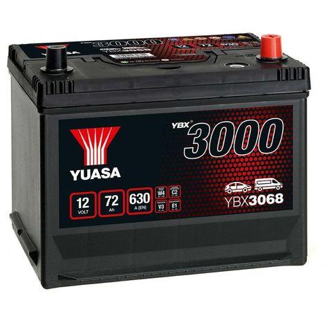 Batterie Yuasa SMF YBX3068 12V 72ah 630A