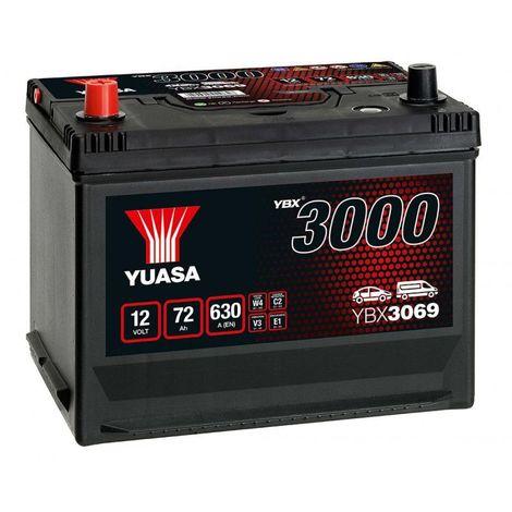 Batterie Yuasa SMF YBX3069 12V 72ah 630A