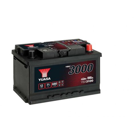 Batterie Yuasa SMF YBX3100 12V 71ah 650A