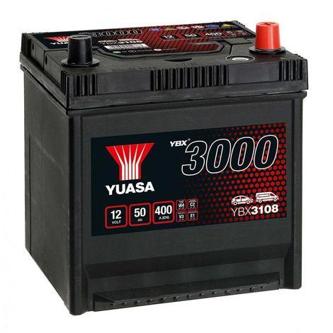 Batterie Yuasa SMF YBX3108 12V 50ah 400A