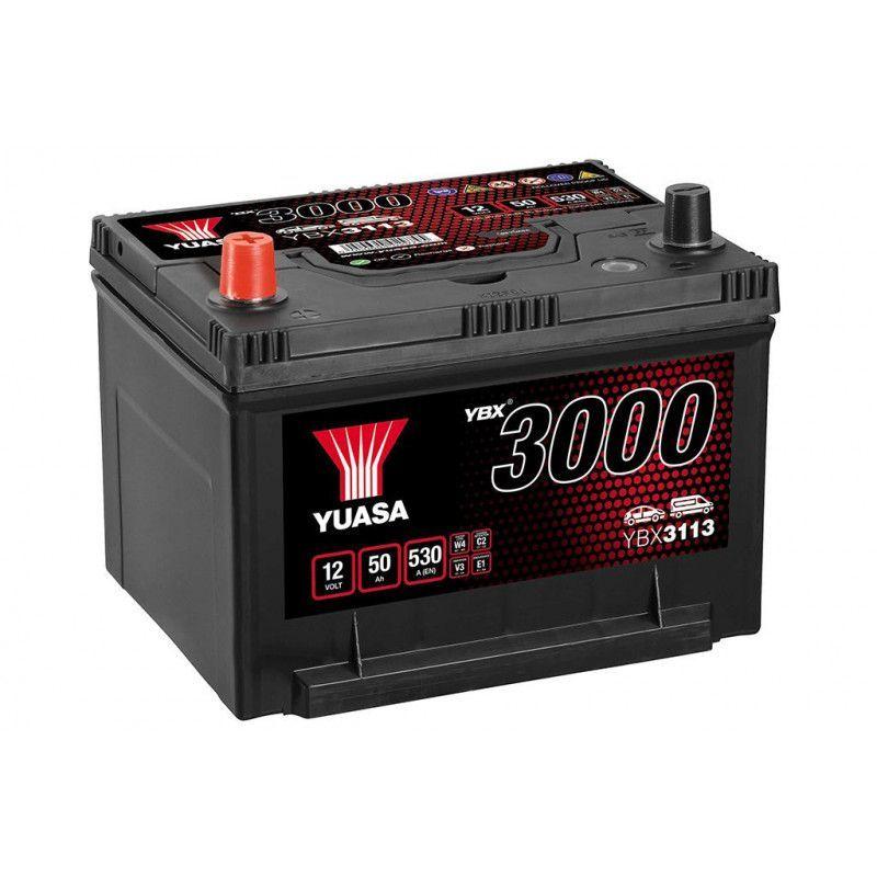 Batterie Yuasa SMF YBX3113 12V 50ah 530A