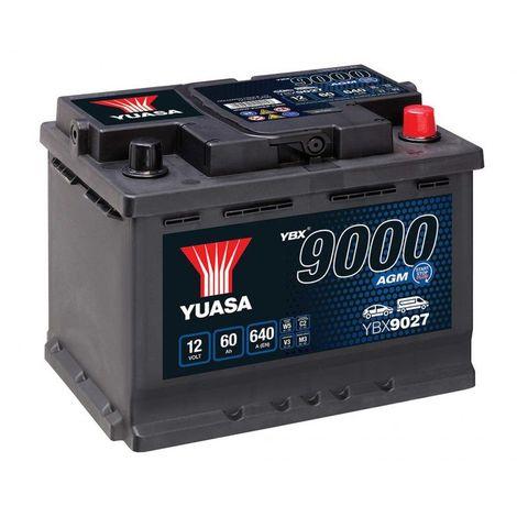 Lucas Premium Lp075 Batterie Voitures 12 V 60Ah 540 Amps En