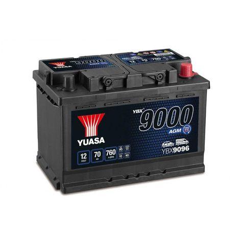 Batterie YUASA YBX9096 AGM 12V 70AH 760A