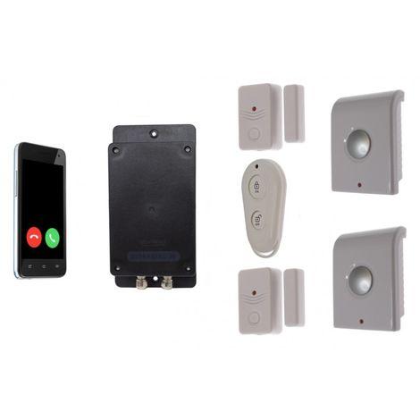 Battery 3G GSM UltraDIAL Door/Window Alarm with Indoor Sirens