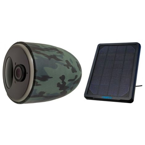 Battery 4G CCTV Camera with Solar Panel [002-2272]