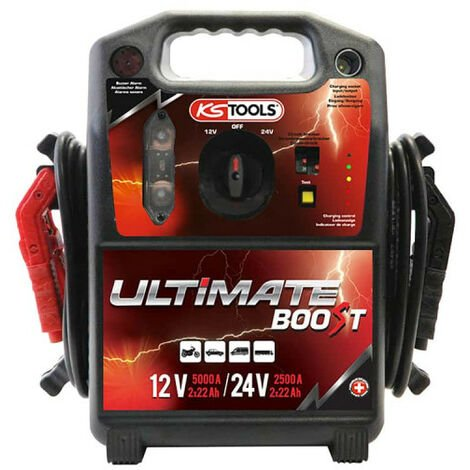 Battery booster KS TOOLS Ultimate Boost - 12/24V - 5000/2500A - 550.1820